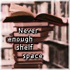 dancing_moon: My books: Never enough shelf space (books)