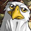 demonlordalex: World of Warcraft Gryphon looking bemused (Gryphon)