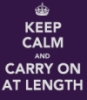 kaffyr: Keep Calm and Carry on At Length poster (Carry On)