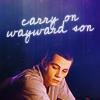 "strina: stiles caption ""carry on wayward son"" (stiles - wayward son)"