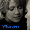 thothmes: Sam leaning in to whisper to Jack from Divide & Conquer (Whispers - B&W - Divide & Conquer)