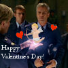 thothmes: Sam holds out a holographic heart to SG-1, Happy Valentines Day! (Valentine's Day)