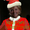 thothmes: Sam Carter in a Santa suit - no beard - Season's Greetings (Santa Carter)