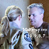 thothmes: RDA & AT in costume, RDA looks angry.  Legend:  Make-up Sex in 10, 9,8,7... (Make-up Sex in 10, 8, 9, 7...)