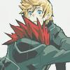 way2dawn: Axel about to tackleglomp Roxas, who looks skeptical (AxelRoxas / *tackleglomp*)