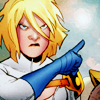 lilpocketninja: Power Girl giving someone the stink eye (GTFO)