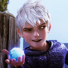 nike: Jack Frost holding a snowball and smirking (RotG Jack Frost)