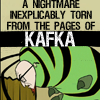 the_deep_magic: A nightmare inexplicably torn from the pages of Kafka! (TW: he can do it)