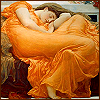 chianagirl: painting titled flaming june by Lord Frederic Leighton (flaming june)