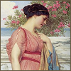 chianagirl: painting of Sappho by John William Godward (sappho)
