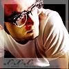 lijahlover: Elijah in glasses (Elijah-Valantines day)