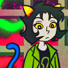 "rogueofheart: art by <user name=""liralicia"" site=""deviantart.com""> (nepeta: just look)"