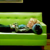 goodbyebird: Community: Britta lying on the couch, playing theraphy to indulge Pierce. (Community aversion theraphy)