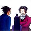 frilliance: ((Wright and Maya) I beat Wright at chess)