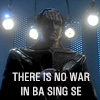 """halialkers: Green-skinned alien with four lights behind him caption """"There is no war in Ba Sing Se"""" (War is peace)"""