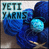 blueyeti: Yeti Yarns: with lots of blue yarn (Yeti - Yeti Yarns)