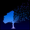 dramatispersonae: (tree - night)