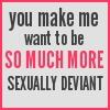 taodog: (sexual deviance)