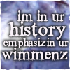 ext_3638: I'm in ur history, emphasising ur wimminz (In the land of Nador!)