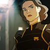 whitelotusmods: Lin from Avatar: TLoK looking serious (Lin looking serious)