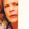 sohotrightnow: Lucille Bluth squinting suspiciously. ([tv] lucille is suspicious)