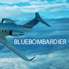 ext_52148: image of bombardier plane with my name on it (thumbs up)
