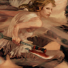 laceblade: Buffy from Season 8 comics, holding scythe (Buffy Season 8)