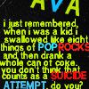 naanima: ([SPN] Ava on coca cola and suicide)