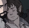 ratha_firesong: This is not my art (Bilbo 2 cuddling)