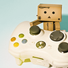 simonejester: danbo and an xbox360 controller ([other] danbo xbox)