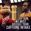 simonejester: ST:VOY Tuvok to Janeway: we must discuss your caffeine intake ([st:voy] janweay caffeine)