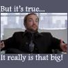 lysanatt: (SPN: Crowley: This Big)