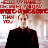 lysanatt: (SPN: Crowley: More Awesome Than You)