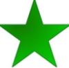 libelo: verda Esperanta stelo (Default)