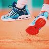 naanima: ([Tennis] Foot off clay)