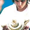 naanima: ([Tennis] Nadal looking at trophy)