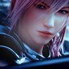 lassarina: A close-up of Lightning from Final Fantasy XIII-2 (Lightning)
