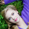 sarcasticsra: Sierra McCormick, laying in grass, looking up. (the devil herself: lucille)