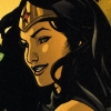 lassoftruthiness: Wonder Woman smiling. (Hee.)
