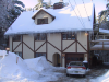 unixronin: Front view of the Caer in winter (House Winter)