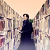 rearranged: (Sherlock - library - books)