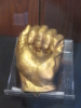 zirconium: Photo of 1860 cast of Lincoln's hand (Lincoln hand)