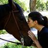 amaya_smythe: (Kissing horse)