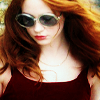 shopfront: Source: Karen Gillian, candid shot, hair blown back by the wind and looking downward. (RP [KG] - and the wind blows me away)