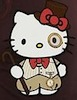 firecat: hello kitty wearing steampunk outfit (steampunk hello kitty)