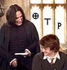 dolores_crane: Harry and Snape looking happy with text 'OTP' (Default)