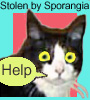 sporangia: (Psycho Cat Parody Icon)