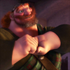 poisontaster: Image of Fergus from Brave clasping his hands together (Brave-Hair in the Wind)