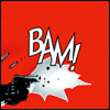 katemonkey: A comic book depiction of a gun firing, held by two hands, with BAM written next to the muzzle flash (BAM BAM BAM)