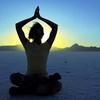 fullygoldy: morning meditation (Yoga Sunrise)